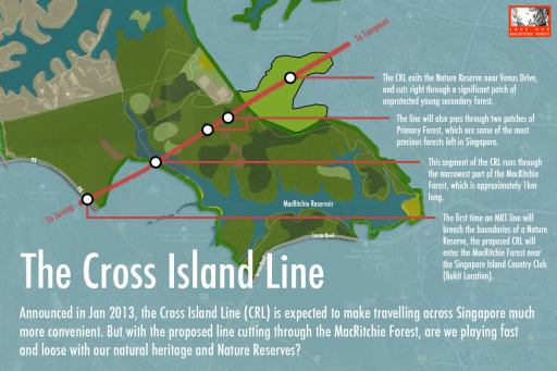 The proposed Cross Island Line
