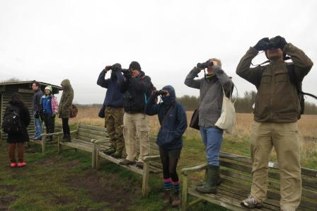 On our first? trip to Lakenheath Fen
