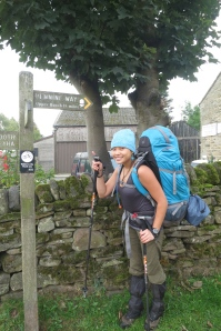 Start of the Pennine Way at Edale.