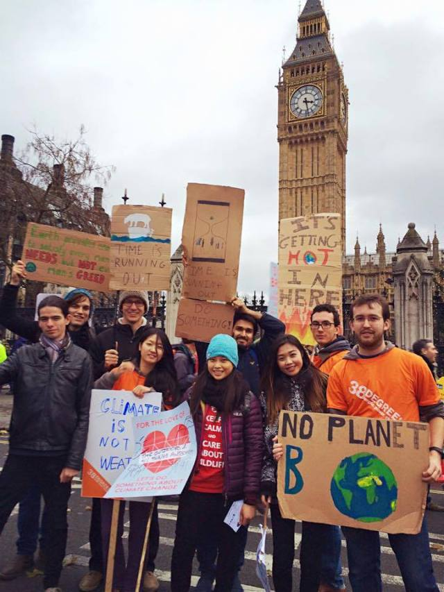 London climate march