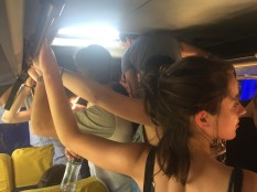Super crowded bus