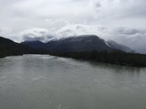 Mountains/glaciers around Lago O'Higgins